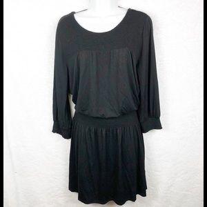❤️Cable & Gauge Black Drop Waist Dress Size L